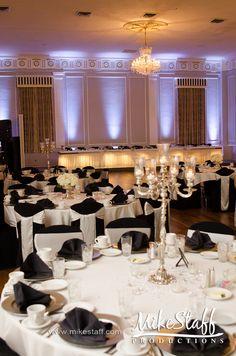 #wedding reception #uplighting