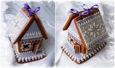 """Gingerbread House """"Winter Lace"""" 