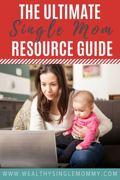 Wealthy Single Mommy's Ultimate Resource Guide for Single Moms provides you with all the tips and tricks you need to navigate single life successfully! Learn the best way to sell your engagement ring, hire a babysitter, make money from home, and so much more! via @johnsonemma