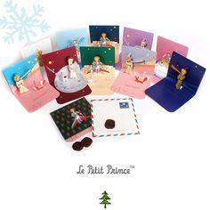 Le Petit Prince Christmas Pop Up Card Set