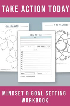 Mindset & Goal setting bundle Planner / Workbook. Manifest Abundance. Set financial goals, create a vision Total 40 pages: • Set Financial goals and track progress • Create a 6 month, 1 year, 5 year and 10 year Future Plan • Vision Board page • Detailed goal setting • Goal planning • Review finished goals. • Monthly, Daily, Weekly Planners • Habit tracker • Improve your self-worth. • Visualization of your future. • Banish your negative beliefs. • Create personal affirmations. • Journal…