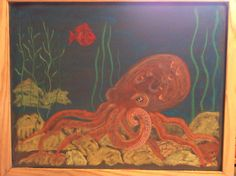 Octopus Waldorf grade 4 The Human Being and the Animal.