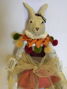 Katherine's Collection Bunny Rabbit Ballerina by FieldsOfVintage