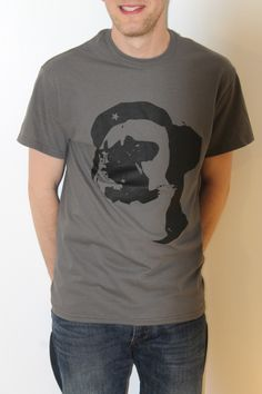 Bey Star Black on Grey Designed By Ryan Chamberlain - Limited edition artist led T-Shirts and Hoodies exclusively available from www.inkytees.co.uk