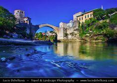 Bosnia and Herzegovina - Mostar - UNESCO World Heritage site - Old Ottoman Bridge over Neretva River | Flickr - Photo Sharing!