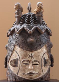 Igbo helmet mask