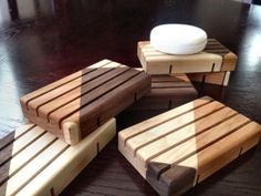 Elegant Wood Soap Dish  Uniquely oneofakind  by HowellsProducts, $9.99