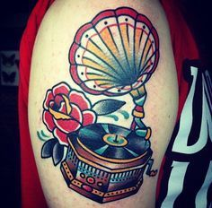 american traditional music tattoos - Google Search
