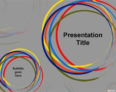 Free Color Circles PowerPoint Template