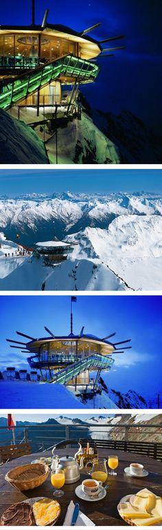 The Top Mountain Star restaurant, Tirol, Austria