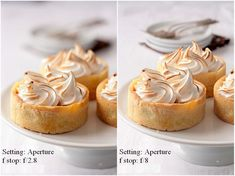 via My Cooking Hut & Tartelette- how to take bright food photos (w/ camera settings)