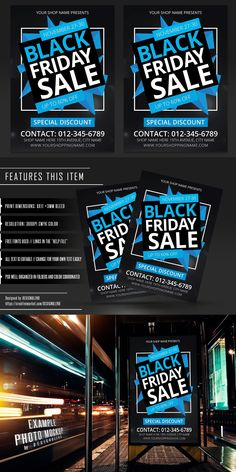 Psd Templates, Flyer Template, Find Fonts, Sale Flyer, Postcard Design, Black Friday, Texts, Photoshop, Names