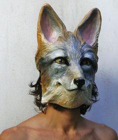 Fox mask . Image/art © Valeria Dalmon, 2011