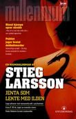 "The Girl Who Played with Fire (Swedish: Flickan som lekte med elden) is the second novel in the best-selling ""Millennium series"" by Swedish writer Stieg Larsson. It was published posthumously in Swedish in 2006 and in English in January Stieg Larsson, Movies Based On Novels, Reading Lists, Book Lists, Books To Read, My Books, Romance, World Of Books, Page Turner"