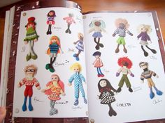 Knitted Dolls by Arne and Carlos