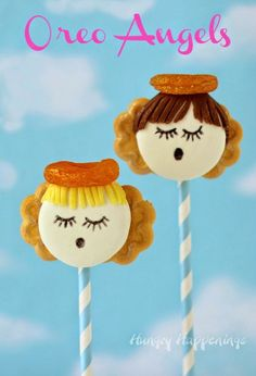 Oreo Angels are heavenly little treats for Christmas, Vacation Bible School, or Sunday School