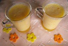 Spuma de portocale, reteta de desert fructat, foarte lejer, simplu de facut, cu portocale, oua si gelatina, textura finala e una aerata Glass Of Milk, Drinks, Drinking, Beverages, Drink, Beverage