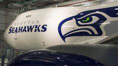 Boeing Seattle Seahawks 747