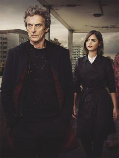 THE DOCTOR and CLARA OSWALD in The Zygon Invasion -