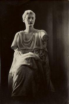 """Lee Miller in """"Le Sang d'un Poète"""", 1930, Man Ray. (1890 - 1976)"""