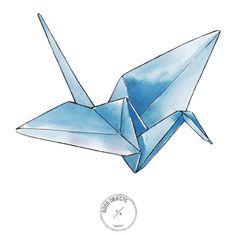 Good objects - Origami #goodobjects #origami #illustration