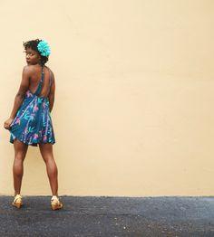 Tropical Swing Dress