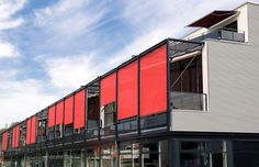 Cláudio Belmundes Roll Blinds, Luxury Office, Pergola, Multi Story Building, Garage Doors, Exterior, Outdoor Decor, Home Decor, Gabriel