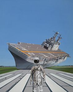 The Runway Painting by Scott Listfield