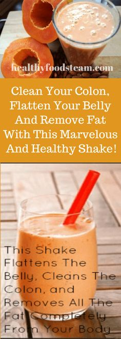 belly fat workout,stubborn belly fat,belly fat after baby,belly fat overnight Stubborn Belly Fat, Fat Belly, Gut Health, Health Fitness, Cleaning Your Colon, Healthy Shakes, Belly Fat Workout, Healthy Recipes, Healthy Foods
