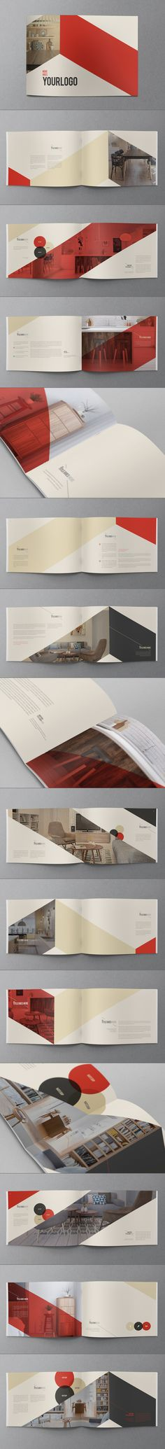 Retro Vintage Brochure on Behance