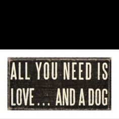 Or three dogs are even better!
