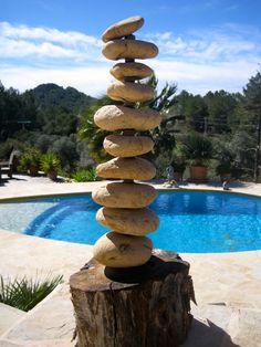 Art with Stones, on Ibiza