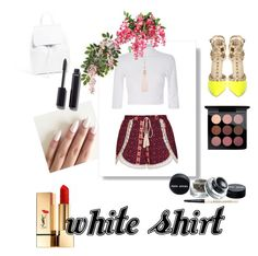"""""""Untitled #39"""" by popmiha on Polyvore featuring Yves Saint Laurent, Ally Fashion, Mansur Gavriel, MAC Cosmetics, Chanel, Oasis and WardrobeStaples Wardrobe Staples, Oasis, Mac Cosmetics, Yves Saint Laurent, Chanel, Polyvore, Image, Fashion, Moda"""