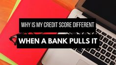 Are you wondering why your you're not approved for the credit application? and why your credit score is different when a bank pulls it?