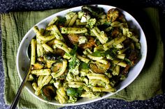 ottolenghi's pasta and fried zucchini salad by smitten, via Flickr