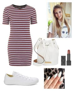 """Untitled #248"" by vivianangelica on Polyvore featuring Topshop, Marc by Marc Jacobs, Converse and Burberry"