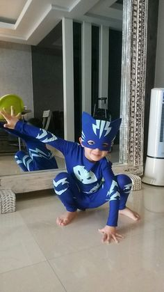 Catboy costume Halloween Costumes Kids Boys, Family Costumes, Boy Costumes, Halloween Fun, Carnaval Kids, Pj Masks Costume, Kids Dress Up, Mask Party, Holidays
