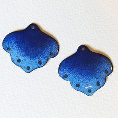Earring components handmade chandelier earring findings jewelry handmade earring components blue chandelier earring findings enamel jewelry mozeypictures Gallery