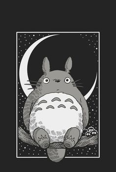 """The Best Innocence Film you should See 2019 - """"My Neighbour Totoro"""" My Neighbour Totoro is also often celebrated for its """"innocence"""" - its hand-drawn scenes of idyllic country fields, placing a strong emphasis on cultivating an appreciation for nature. Studio Ghibli Films, Art Studio Ghibli, Art Anime, Anime Kunst, Animes Wallpapers, Cute Wallpapers, Totoro Drawing, My Neighbor Totoro, Kawaii Wallpaper"""