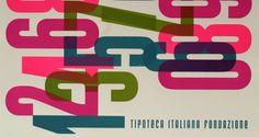 Stamperia | Tipoteca Italiana #letters #numbers #invasionidigitali #colors #typography