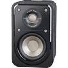 Polk Audio - Signature Hi-res Bookshelf Satellite Surround Speaker - Black Washed Walnut Surround Sound Speakers, Speaker Design, Styling Tools, Hair Tools, Audio, Black, Black People