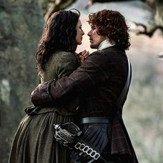 Jamie Fraser says goodbye to Claire.