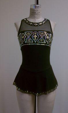 Del Arbour Beaded D86-Z44 Skating Dress - 6 Colors