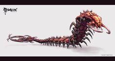 Alien Centipede by raoxcrew.deviantart.com on @deviantART