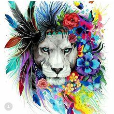 Tropical lion