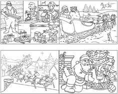 Father Christmas, Xmas, Story Sequencing, Sequence Of Events, Core French, French Immersion, Theme Noel, Teaching French, Learn French