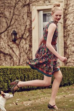 #Needlepoint #Garden #Dress #Anthropologie