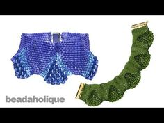 How to do Peyote Bead Weaving with Various Sizes of Beads - Instructional Videos - Beading Resources   Beadaholique