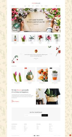 With our WooCommerce-compatible theme, you can start a successful florist business right now and build a lovely store using Fiorello's flourishing set of shop lists and singles. page ui design Fiorello - A Flower Shop and Florist WooCommerce Theme Design Shop, Flower Shop Design, Best Web Design, Web Design Company, Blog Design, Ui Design, Modern Design, Graphic Design, Layout Design