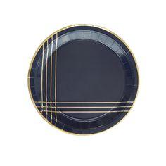 Nuevo Océano amigos 23cm//8 platos de papel